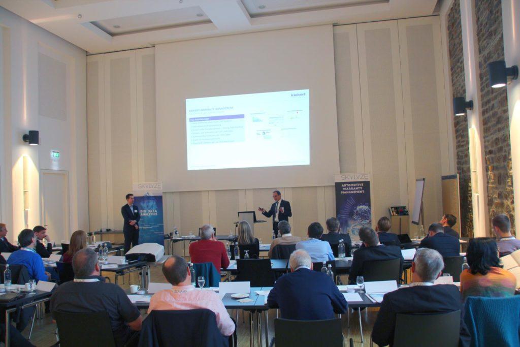 Vortrag Jörg Lange, Kiekert AG und Andreas Rüttgers, DSA GmbH