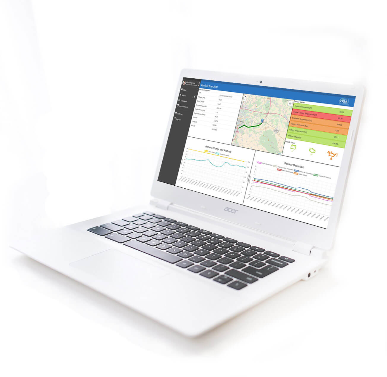 Skylyze DSA Connected Vehicle Analysis