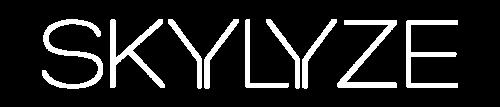 skylyze logo white